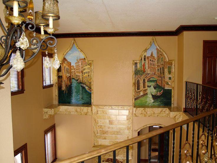 Venetian Wall Murals.