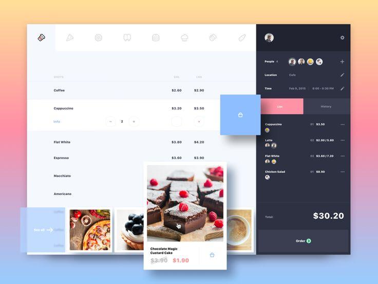 Cafe | Event App by Alex Volk