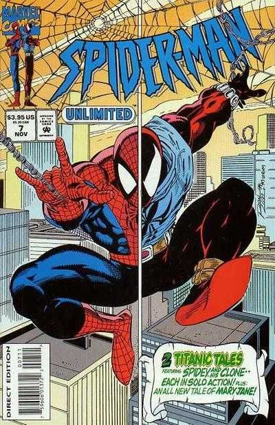 SPIDER-MAN Unlimited Vol1 7 (1994) | Clone Saga | Major EVENTS of the Marvel UNIVERSE