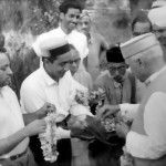 Nakul's Late Grandfather with Late Pandit Jawaharlal Nehru in 1960