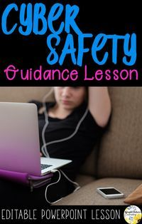 cyber safety guidance lesson for elementary students