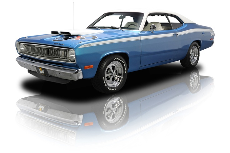 1972 Plymouth Duster Classic Muscle Car For Sale In Mi: 1972 Plymouth Duster