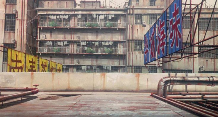 Ghost in the Shell. Directed by Mamoru Oshii. Created by Production I.G. Ghost in the Shell