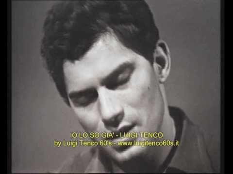 Luigi Tenco, Io lo so già (1964)
