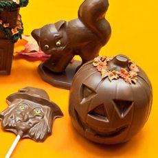 Marshville Chocolates Featured Products Halloween Pumpkins Black cat
