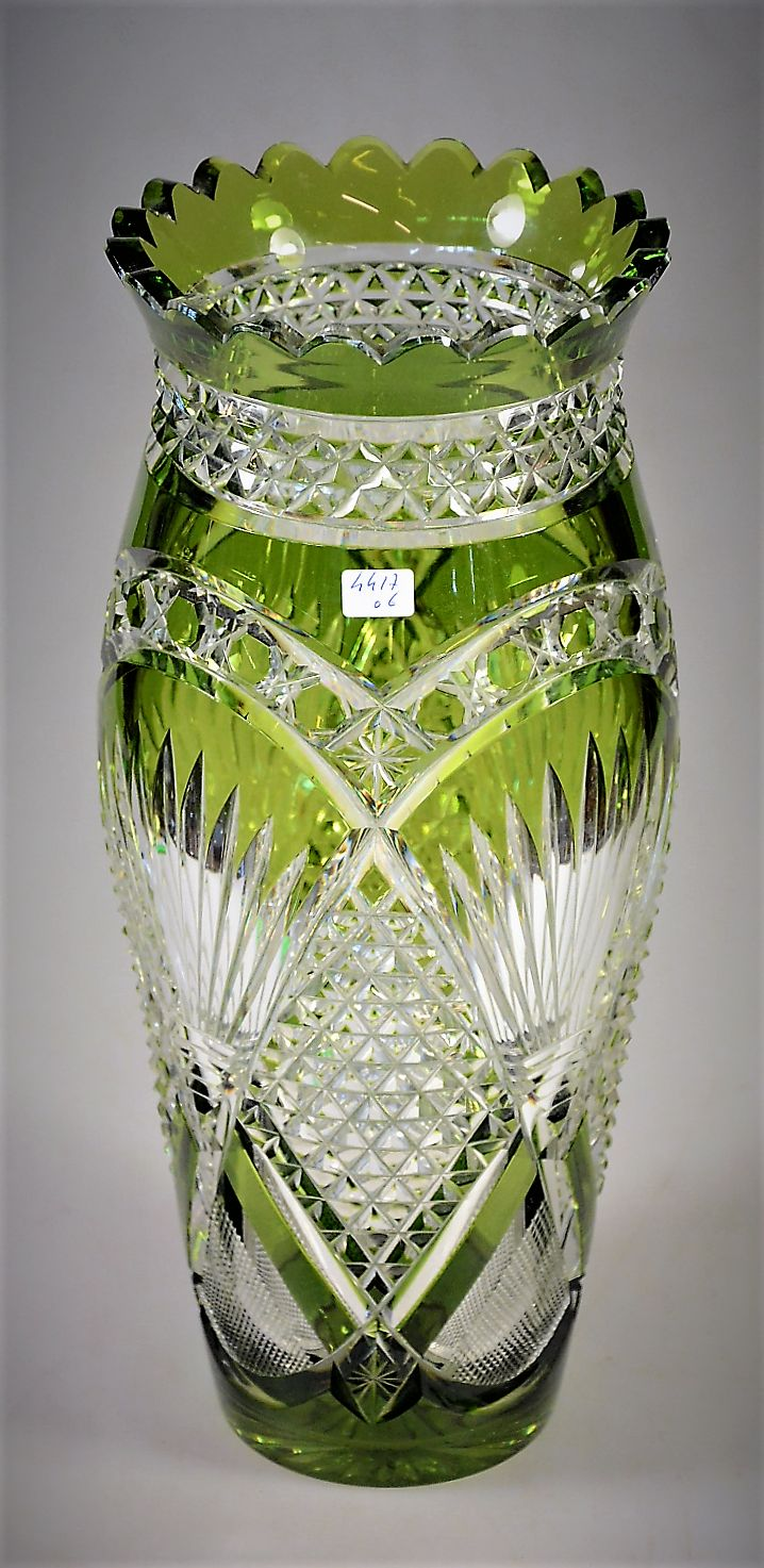 2571 best glass images on pinterest glass vase antique glass val saint lambert vase lon en cristal clair doubl vert de chine taille andover reviewsmspy