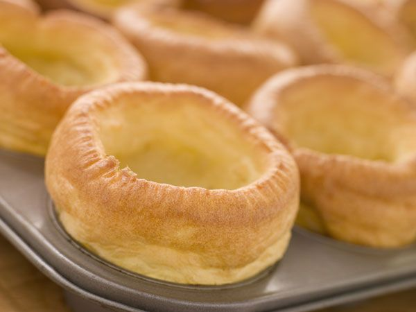 Yorkshire Pudding... What more do I need to say? Oh yeah... It's gluten free!