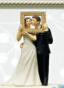 Picture Perfect Cake Topper | Available through Piece O' Cake