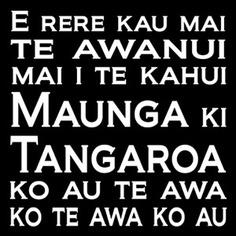 my whakapapa links are testimony to this whakatauki.
