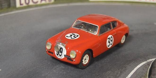 LANCIA AURELIA B20 Corsa / SLOTCLASSIC  The new SlotClassic model is now available. Unveiled a few days ago, the brand has put today on sale the few units available from this car 1:32 scale for slot. The model that reproduces the Lancia Aurelia B20 Corsa that took part on the 24 H of Le Mans of 1952 is the 48 reference of this manufacture...  http://www.slotcar-today.com/en/notices/2017/09/lancia-aurelia-b20-corsa-slotclassic-6707.php   Slotcar Magazin http://slotnerd.de/ #tires
