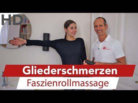 Gliederschmerzen // Armschmerzen, Beinschmerzen, Kopfschmerzen, Übungen mit der Faszienrolle - YouTube