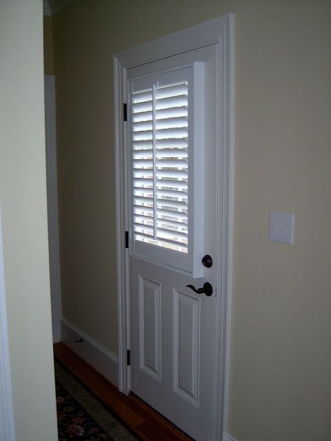 35 best images about doors on pinterest window Plantation shutters for doors interior