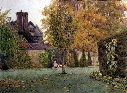 Loseley Parc de Ernest Arthur Rowe (1863-1922, United Kingdom)