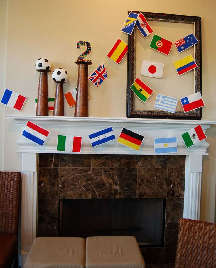By the Way: A World Cup Party for a 2 year-old's birthday