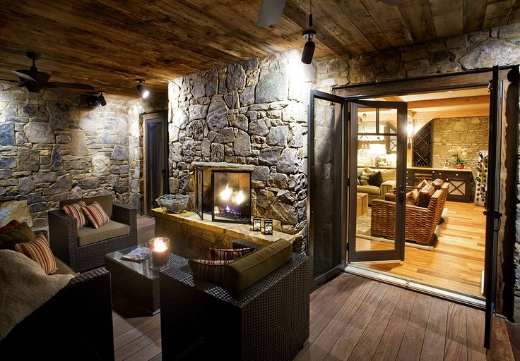 1000 ideas about two sided fireplace on pinterest for Indoor and outdoor fireplace design