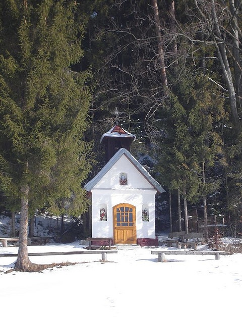little church in the big woods