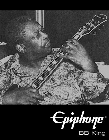 Epiphone Artist - BB King - R.I.P. Guitar legend, passed away 2015