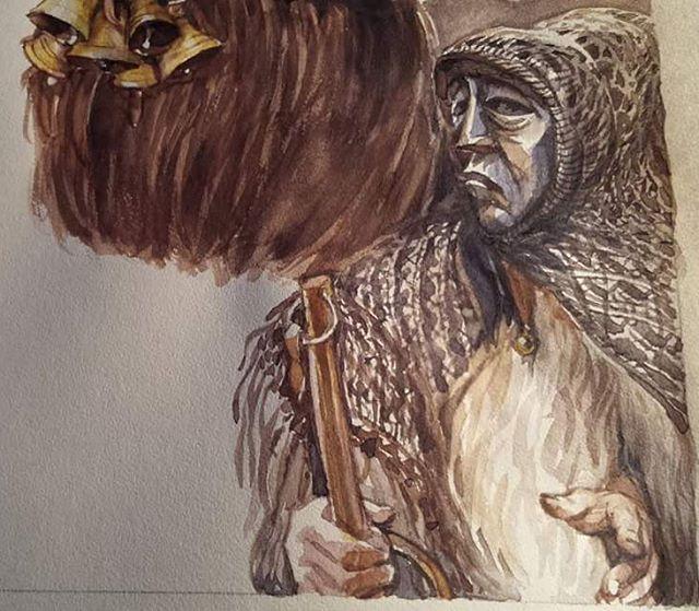 """Art of Bogdan Lupescu on Instagram: 409. """"Poi nell'ombra un nitrito! Ché già grande tra mormorii di rivoli e di fronde, s'alza la luna a benedire i monti."""" #sneakpeek #artistatwork #illustration #drawing #bogdanlupescu #dayofdrawing #steampunk #BD #scketch #ink #lineart #copicmarkers #pigmamicron"""