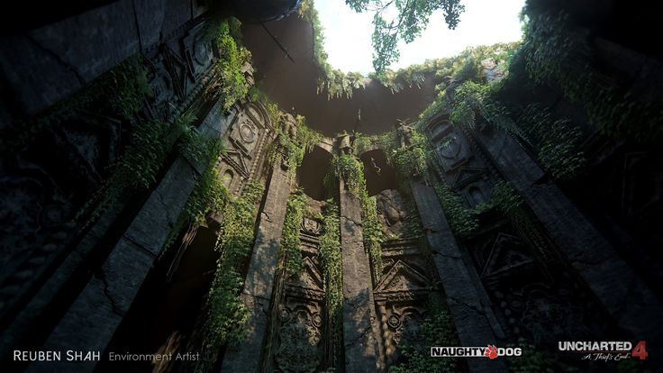 ArtStation - Open Water - Uncharted 4, reuben shah