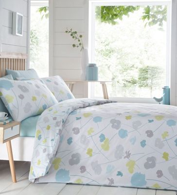 Home Collection Multicoloured printed 'Scattered Flowers' bedding set   Debenhams