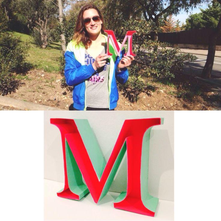 M for Mireia Belmonte