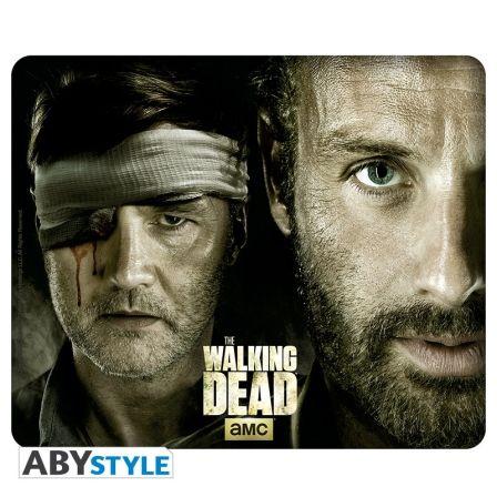 THE WALKING DEAD Tapis de souris The Walking Dead Rick Vs Le Gouverneur