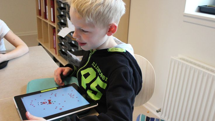 iPad fremmer selvstændig læring på Parkvejens Skole i Odder. Parkvejens Skole som Apples profilskole