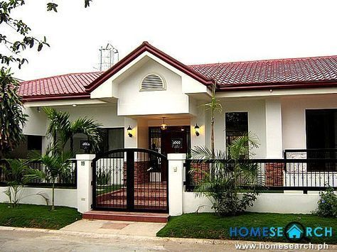 house designs bungalow type Casas minimalistas Pinterest