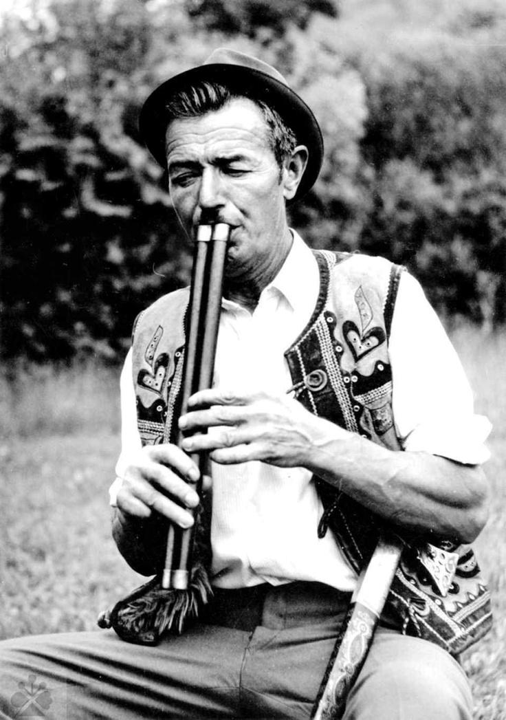 Bača P. Vajda z Priechodu (okr. Banská Bystrica). Vedecký archív ÚEt SAV, reprodukcia, 80. roky 20. storočia.
