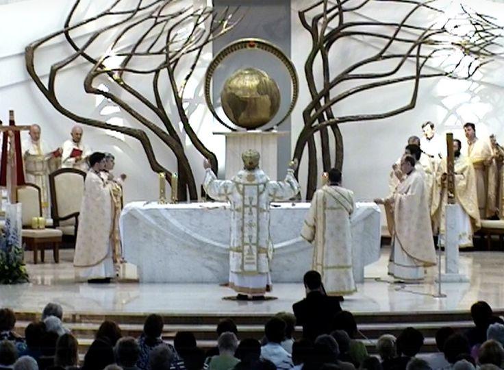 Grekokatolicy przybyli do Sanktuarium Bożego Miłosierdzia - Sanktuarium Bożego Miłosierdzie w Krakowie-Łagiewnikach