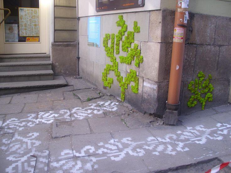 Milk Graffiti & Moss Graffiti