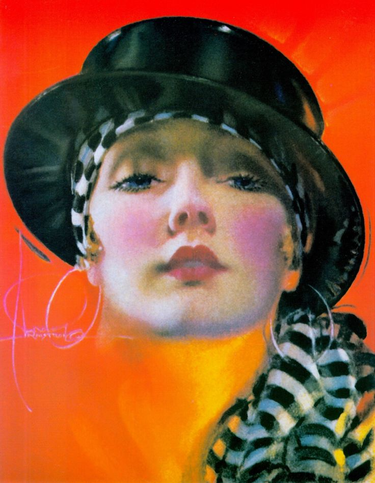 BEAUTY limited edition print by Rolf Armstrong (distributed by Collegiate World Publishing), originally cover of College Humor, June 1928. from PIN-UP DREAMS: The Glamour Art of Rolf Armstrong (2001) by Janet Sobson & Michael Wooldridge (please follow minkshmink on pinterest) #twenties #flapper #rolfarmstrong #jazzage #roaringtwenties #itgirl #twentiesfashion