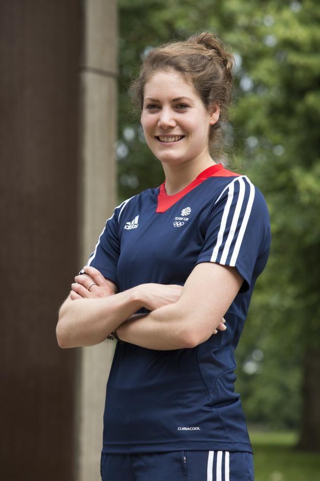 Kate French - Modern Pentathlon.