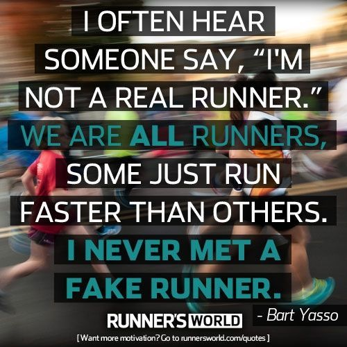 I will never forget getting a high five from Bart Freaking Yasso during the Richmond Marathon in 2014.