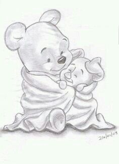 Pooh And Piglet Love This One Already Drew It