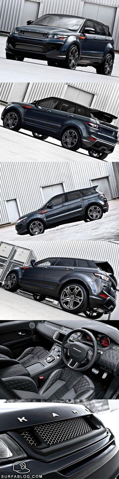 Range Rover Evoque RS250 Kahn Dark Tungsten