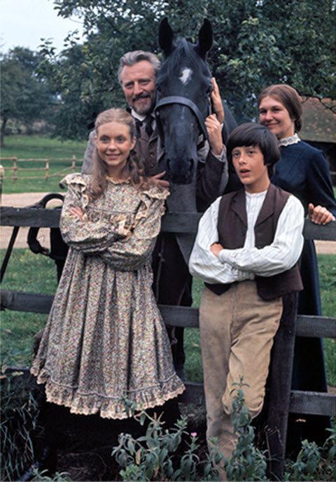 The Adventures of Black Beauty, starring Judi Bowker, Stacy Dorning, William Lucas, Charlotte Mitchell, Roderick Shaw and Michael Culver, 1972-74