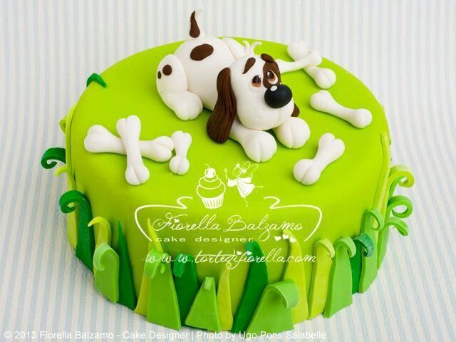 Pictures Of Puppy Dog Cakes