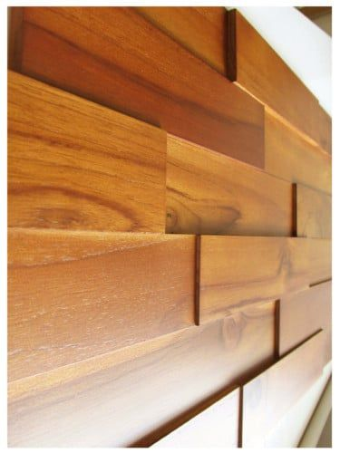 Teak Wood Wall Paneling Interior Panels By Walldecor