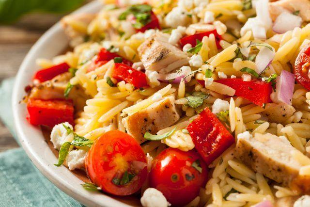 ✳Ensalada de arroz con pollo ¡perfecta para triunfar!  #EnsaladaDeArrozConPollo #EnsaladaDeArroz #RecetasFáciles #RecetasRápidas #EnsaladasLigeras #RecetasLigeras