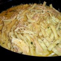 Comforting Chicken & Noodles Crock Pot!!