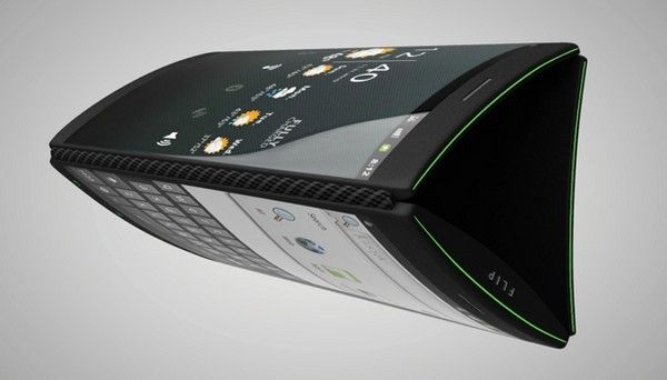 Android triple display flip phone concept design. Want it. Need it.