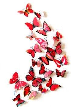 Pimp uw muur op met onze prachtige 3d vlinders en bloemen. Ze zijn er in diverse soorten en maten. Het is een makkelijke en originele manier om uw kamer op te vrolijken. U kunt geheel naar eigen inzicht een leuke patroon vormen.