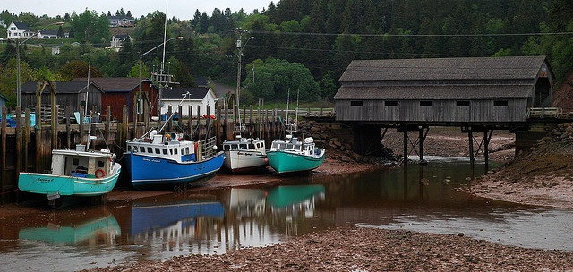 Low Tide ~ St. Martins, NB, Canada
