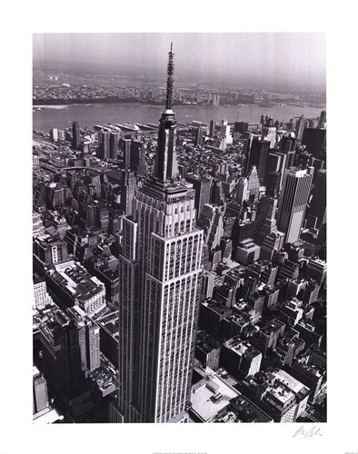 Empire State Building, Art Print by Christopher Bliss