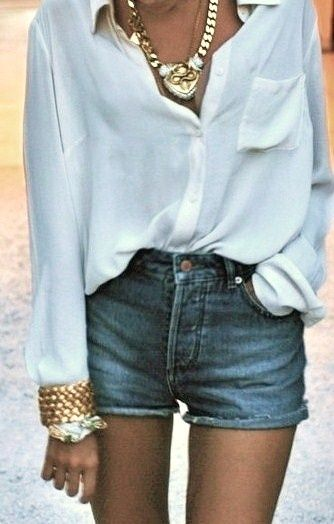268 best The White Shirt images on Pinterest | White blouses ...