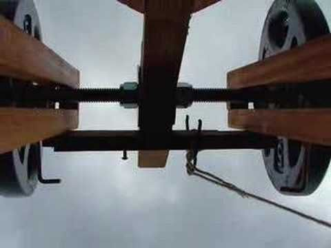 floating arm trebuchet