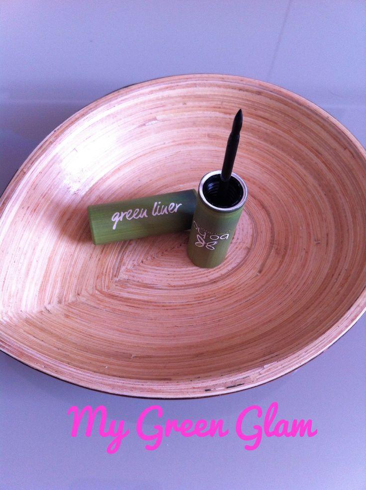 My Green Glam | Green et Glamour: test de l'eye liner Boho Green