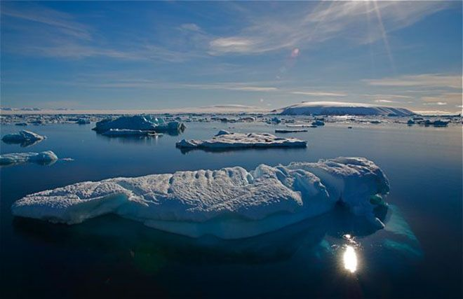 Don't know if you can go here but its stunning to see. Antartica