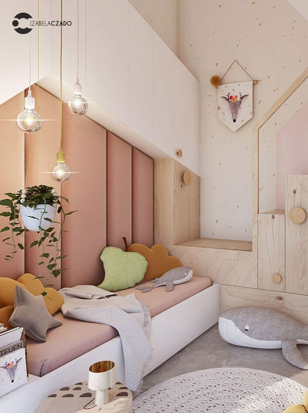 Simplicity Scandinavian House With Wood Characteristics Bedroom Design Kid Room Decor Minimalist Kids Room